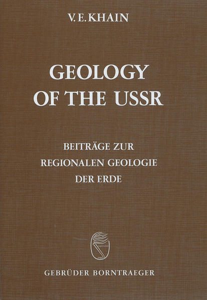 Geology of the USSR / Old cratons and Paleozoic fold belts - Coverbild