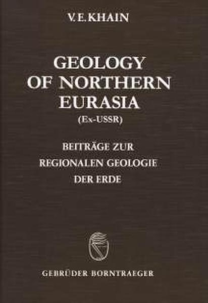 Geology of the USSR / Geology of Northern Eurasia (Ex-USSR) - Coverbild