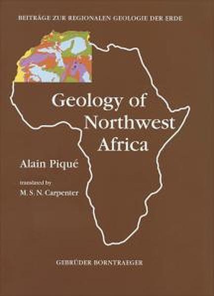 Geology of Northwest Africa - Coverbild