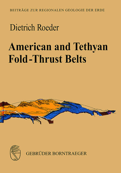 American and Tethyan Fold-Thrust Belts - Coverbild