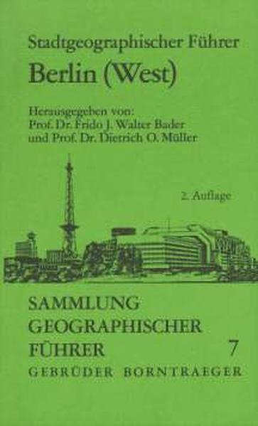 Stadtgeographischer Führer Berlin (West) - Coverbild