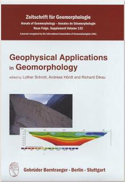 Geophysical applications in geomorphology - Coverbild