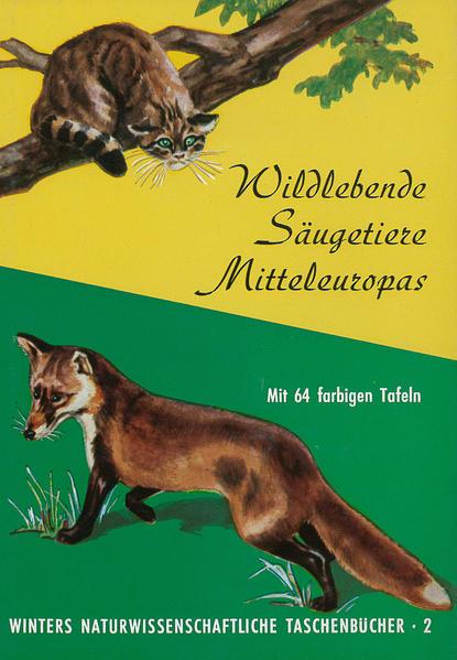 Wildlebende Säugetiere Mitteleuropas - Coverbild