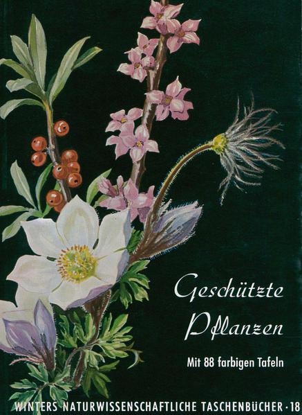Deutschlands geschützte Pflanzen - Coverbild