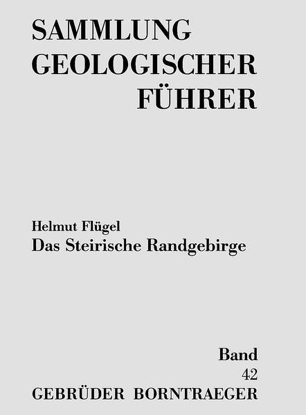 Das Steirische Randgebirge - Coverbild