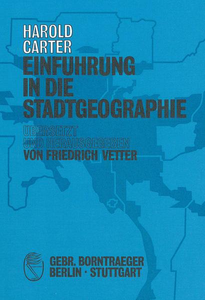 Einführung in die Stadtgeographie - Coverbild