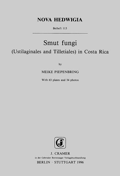 Smut fungi (Ustilaginales and Tilletiales) in Costa Rica - Coverbild