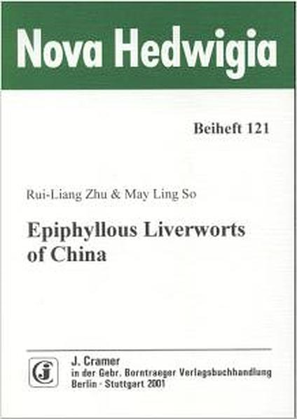 Epiphyllous Liverworts of China - Coverbild