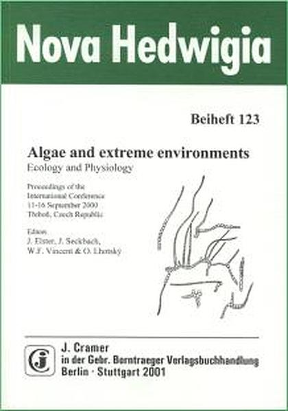 Algae and extreme environments - Coverbild