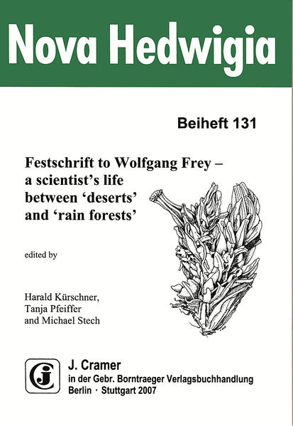 Festschrift to Wolfgang Frey - a scientist's life between