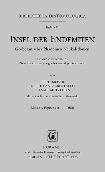 Insel der Endemiten: Geobotanisches Phänomen /Island of Endemics: New Caledonia - a geobotanical phenomenon - Coverbild