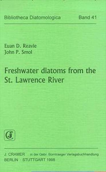 Freshwater diatoms from the St. Lawrence River - Coverbild