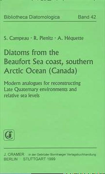 Diatoms from the Beaufort Sea coast, southern Arctic Ocean (Canada) - Coverbild