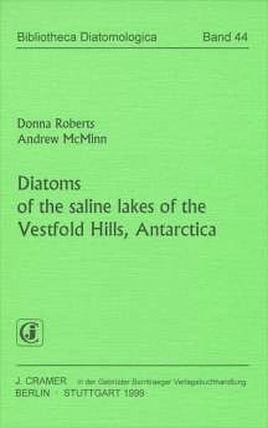 Diatoms of the saline lakes of the Vestfold Hills, Antarctica - Coverbild