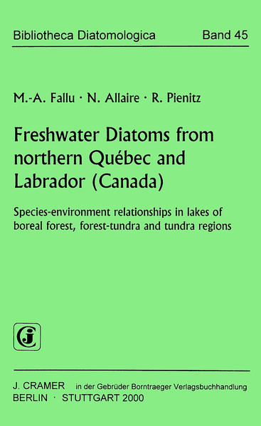 Freshwater Diatoms from northern Québec and Labrador (Canada) - Coverbild
