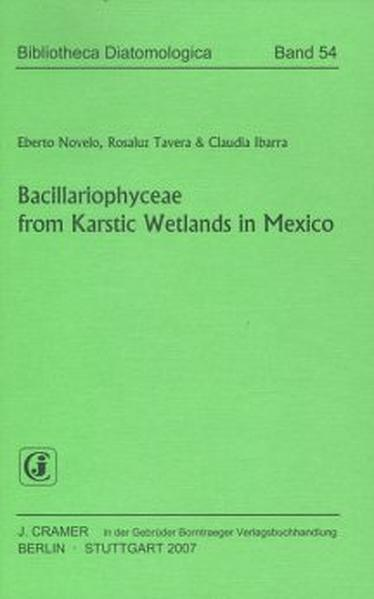 Bacillariophyceae from Karstic Wetlands in Mexico - Coverbild