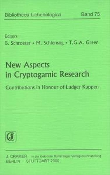 New Aspects in Cryptogamic Research - Coverbild