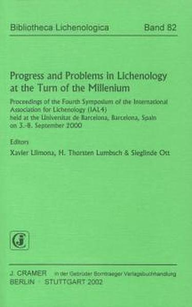 Progress and Problems in Lichenology at the Turn of the Millenium - Coverbild
