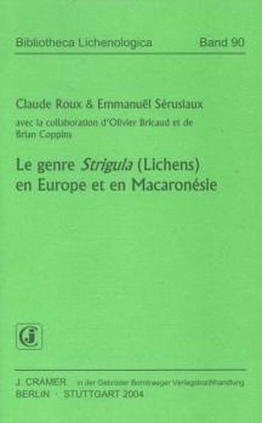Le Genre Strigula (Lichens) en Europe et en Macaronésie - Coverbild