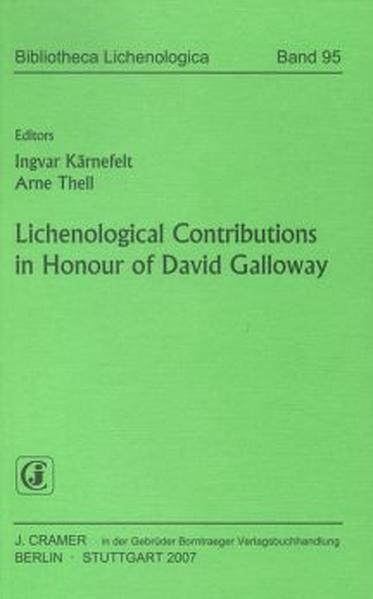 Lichenological Contributions in Honour of David Galloway - Coverbild