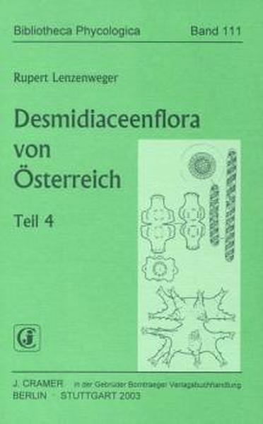 Desmidiaceenflora von Österreich - Coverbild