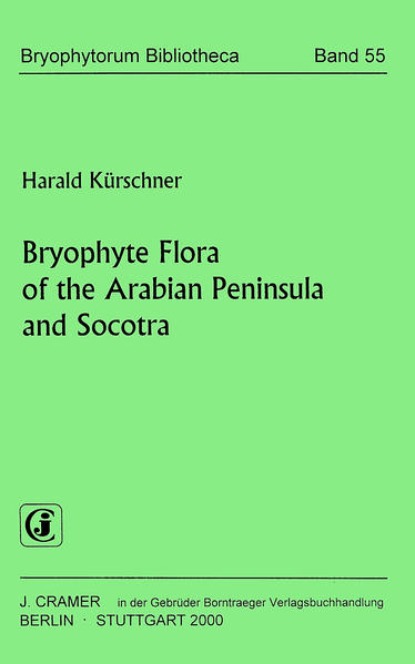 Bryophyte Flora of the Arabian Peninsula and Socotra - Coverbild