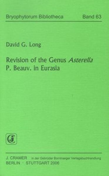 Revision of the Genus Asterella P. Beauv. in Eurasia - Coverbild