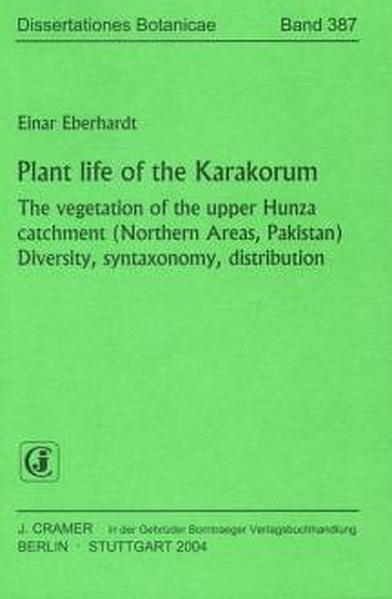 Plant life of the Karakorum - Coverbild