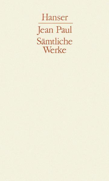 Sämtliche Werke - Coverbild