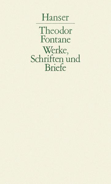 Werke, Schriften und Briefe - Coverbild