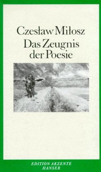 Das Zeugnis der Poesie - Coverbild