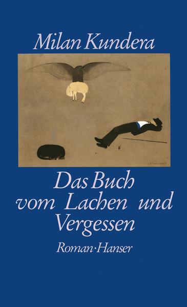 Das Buch vom Lachen und Vergessen - Coverbild