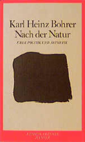 Nach der Natur - Coverbild