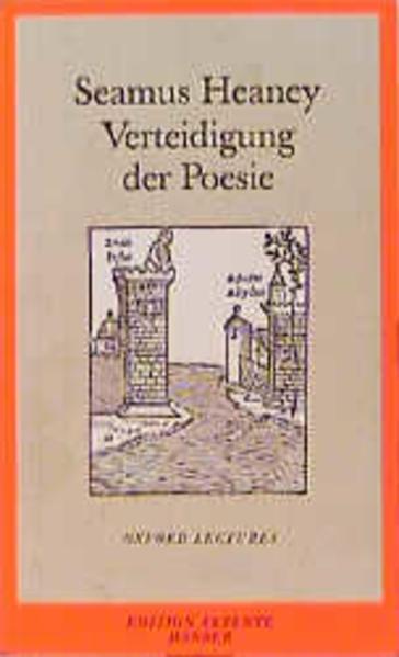 Verteidigung der Poesie - Coverbild