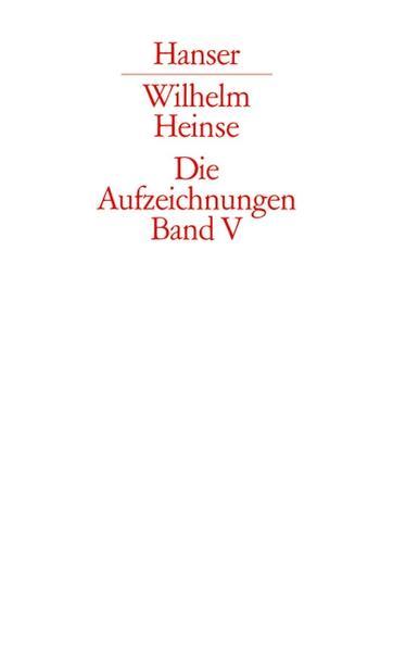 Die Aufzeichnungen. Frankfurter Nachlass - Coverbild