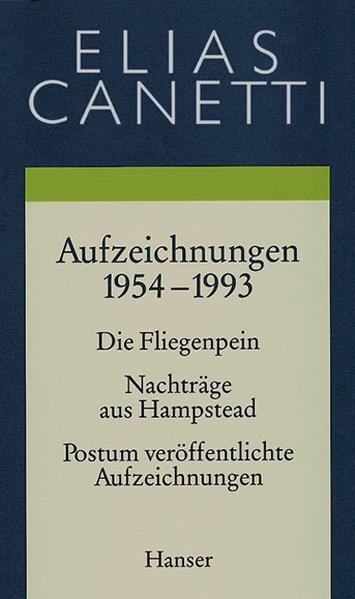 Gesammelte Werke Band 5: Aufzeichnungen 1954-1993 - Coverbild