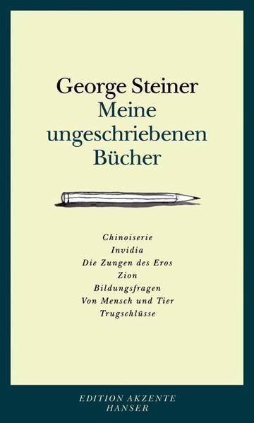 Meine ungeschriebenen Bücher - Coverbild