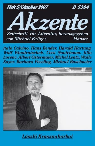 Akzente 5 / 2007 - Coverbild
