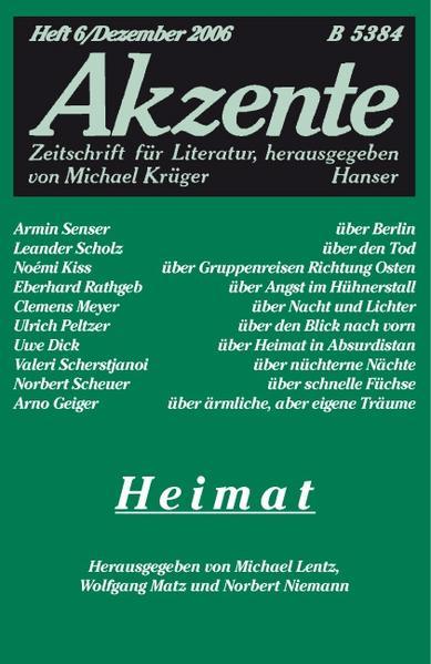 Akzente 6 / 2006 - Coverbild