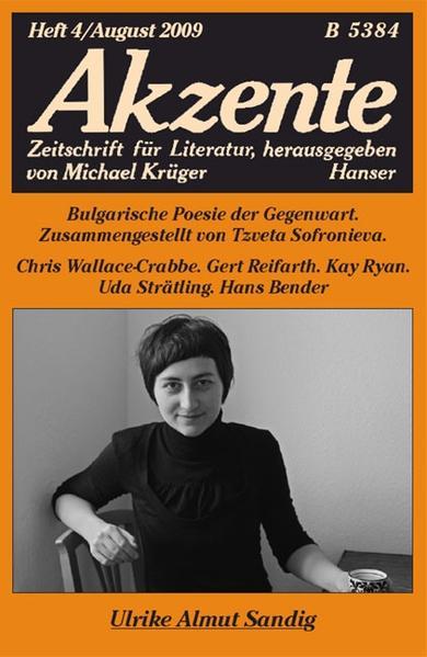 Akzente 4 / 2009 - Coverbild