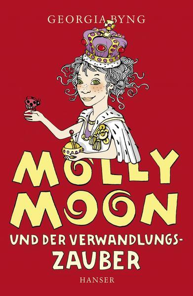 Molly Moon und der Verwandlungszauber - Coverbild