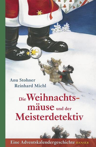 Die Weihnachtsmäuse und der Meisterdetektiv - Coverbild
