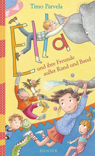 Ella und ihre Freunde außer Rand und Band - Coverbild