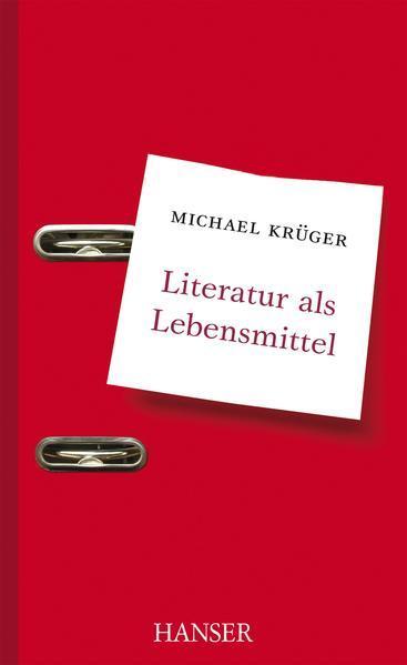 Literatur als Lebensmittel - Coverbild