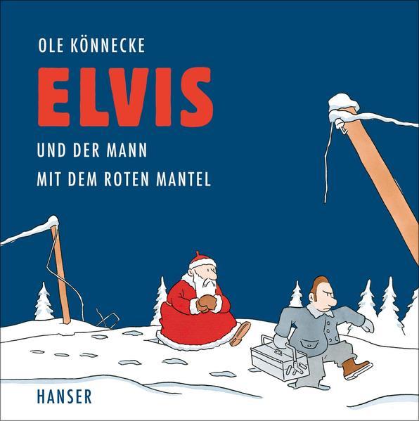 Elvis und der Mann mit dem roten Mantel - Coverbild
