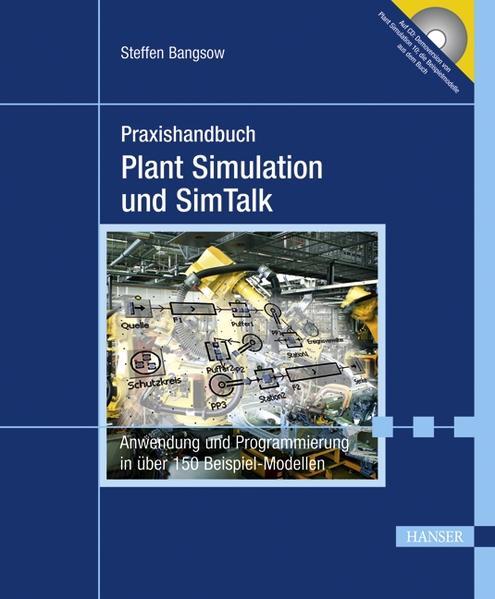 Praxishandbuch Plant Simulation und SimTalk - Coverbild