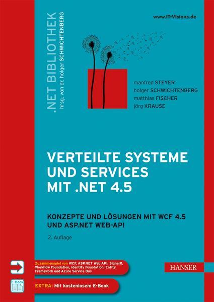 Verteilte Systeme und Services mit .NET 4.5 - Coverbild
