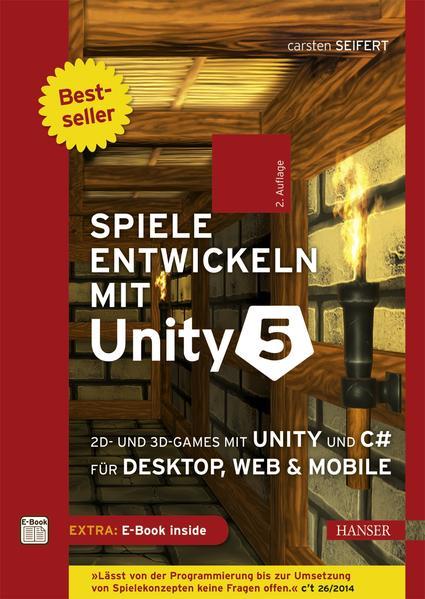 Spiele entwickeln mit Unity 5 - Coverbild