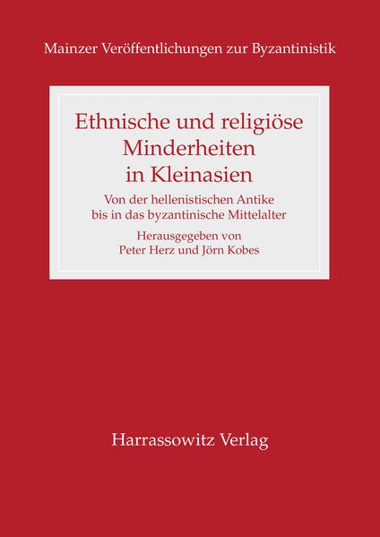 Download PDF Kostenlos Ethnische und religiöse Minderheiten in Kleinasien