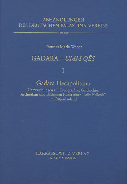 Gadara - Umm Qes I. Gadara Decapolitana - Coverbild